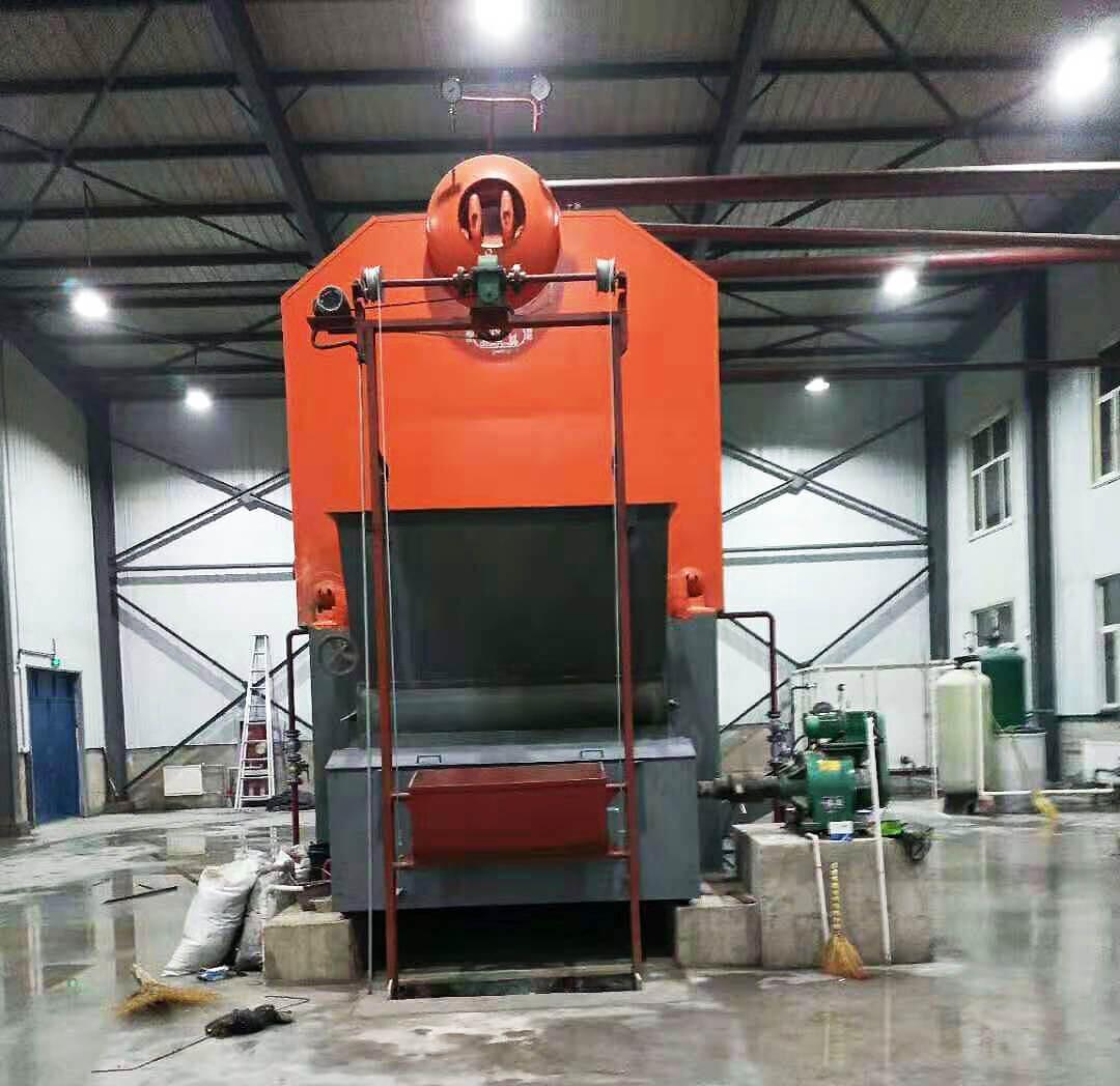 8tons/hr SZL series coal biomass fired steam boiler