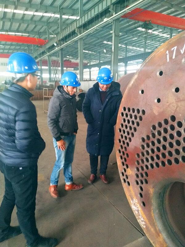 WNS4-1.25-Y(Q) 4tons/hr gas fired steam boiler