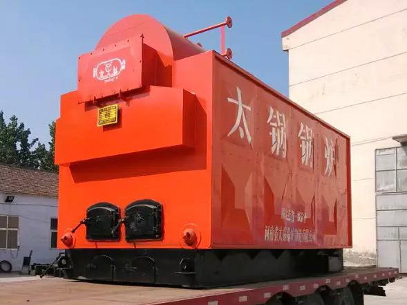 DZH2-1.25-T, 2tons/h coal biomass fired steam boiler